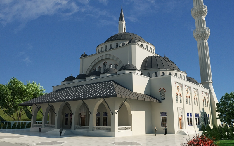 Afet Yola aka Levent Mosque