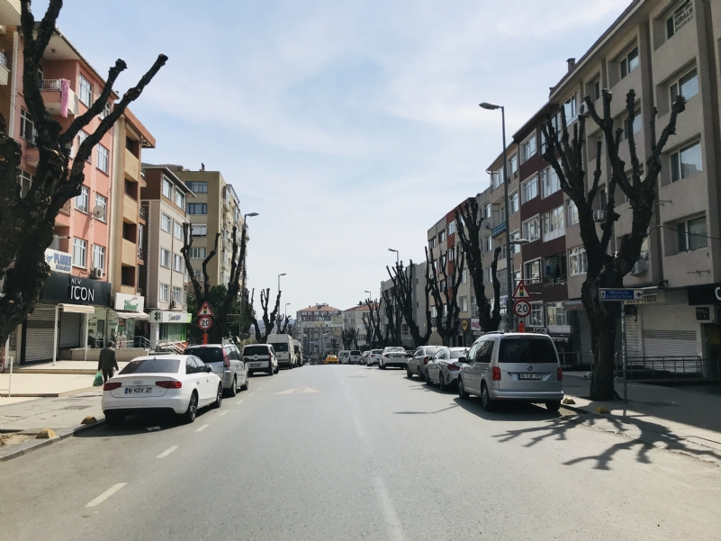 Car and pedestrian mobility drops significantly in Istanbul