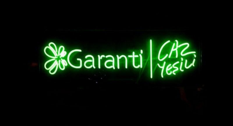 Garanti Jazz Green colors autumn with fall concerts in Istanbul