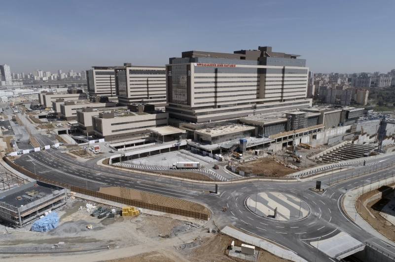 Massive new Istanbul hospital complex partially unveiled to combat pandemic