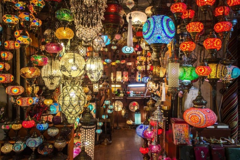 The Grand Bazaar Of Istanbul