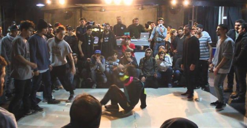 Turkey's first hip hop culture meeting in Istanbul